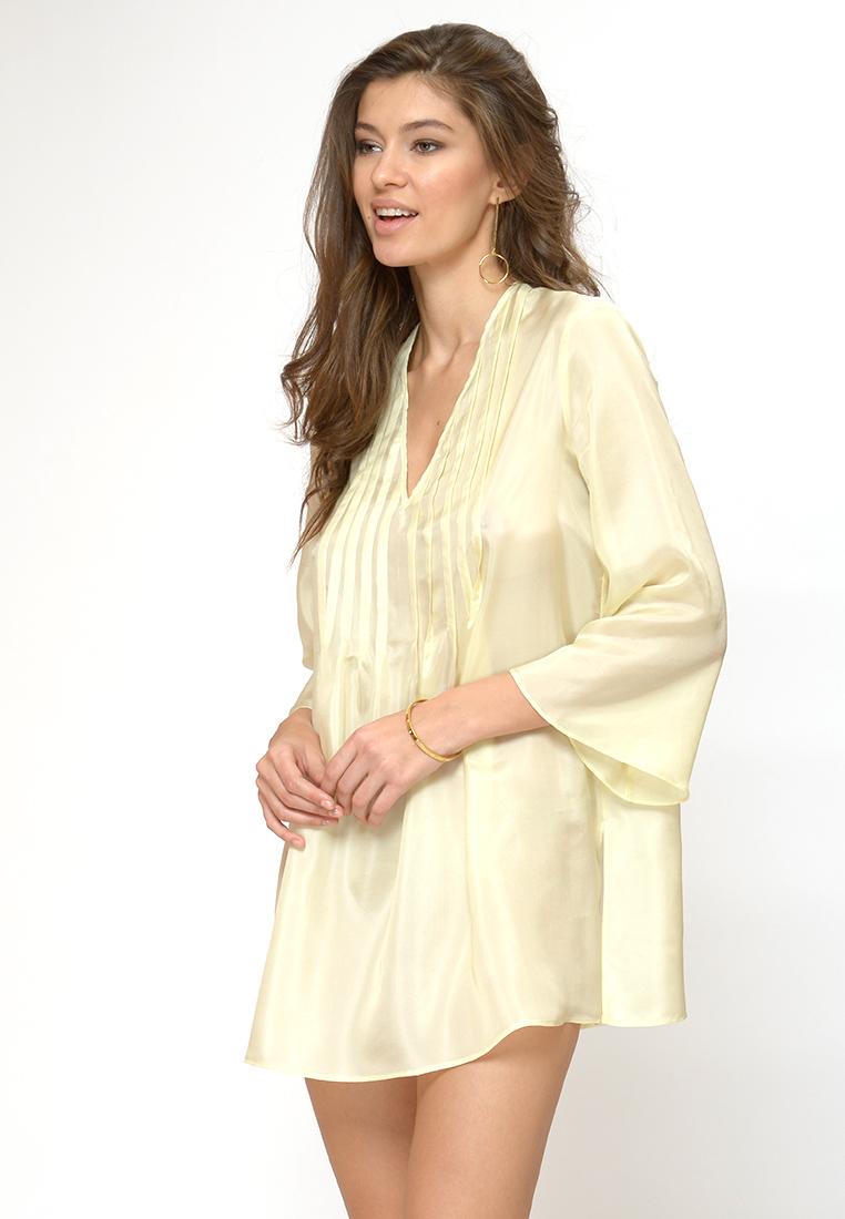 Платье-мини Petit Pas ACL086 Туника ваниль L