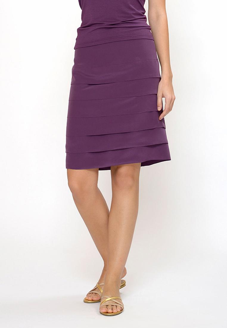 Миди-юбка Petit Pas ACL088 юбка фиолет L