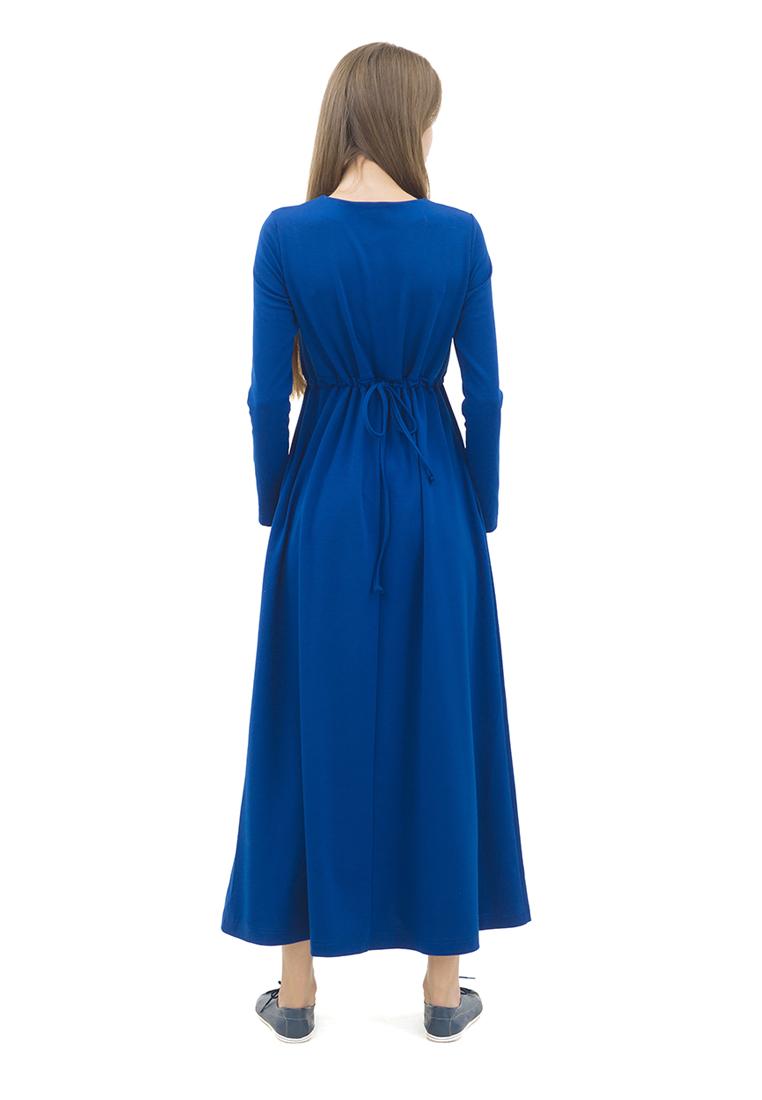 Вязаное платье DOCTOR E DPT-80-синий-40