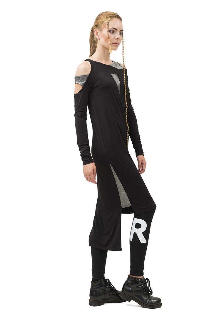 Вязаное платье Pavel Yerokin (Павел Ерохин) SLV-60-черный-40