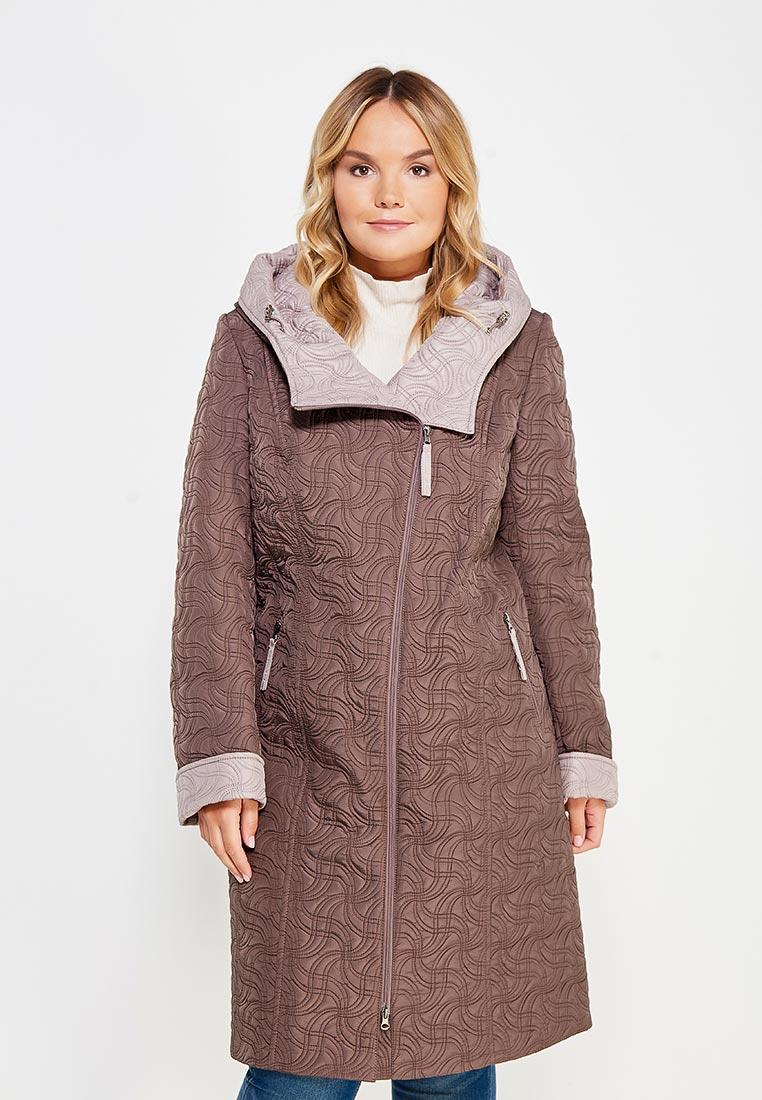 Женские пальто Brillare 3-804-62/62kakao/bezevuj-50