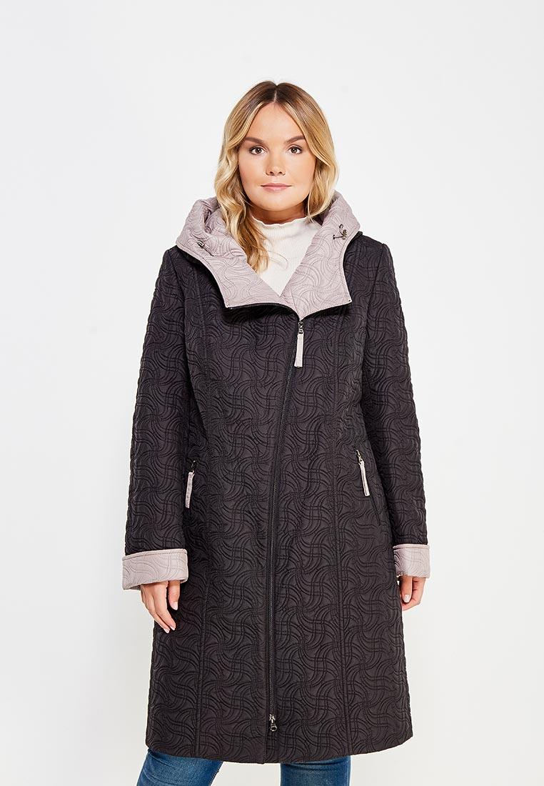 Женские пальто Brillare 3-804-62/62chernuj/bezevuj-50