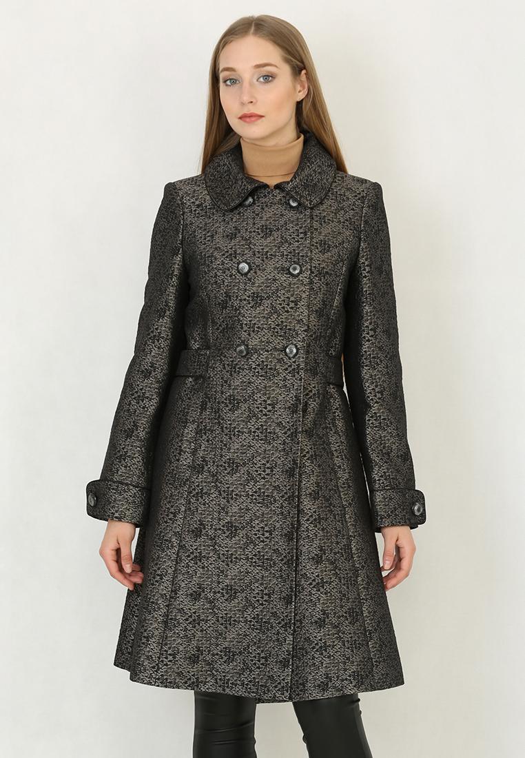 Женские пальто Trifo 7258-Черный-42/164