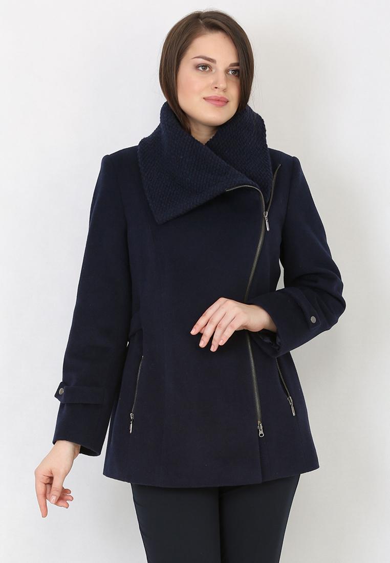 Женские пальто Trifo 7288-Глубокий синий-42/164