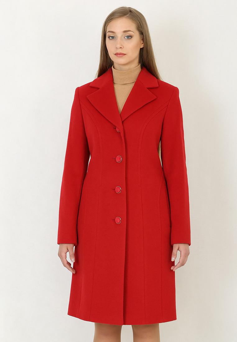 Женские пальто Trifo 7295-Красный-44/164