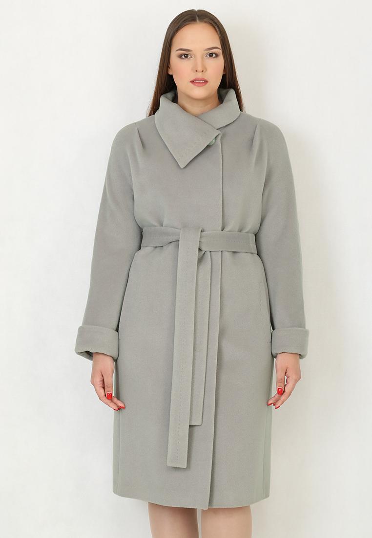 Женские пальто Trifo 7104-Серый-46/164
