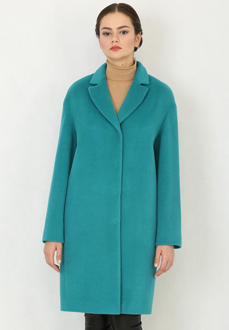 Женские пальто Trifo 7405-Изумрудный-46/170