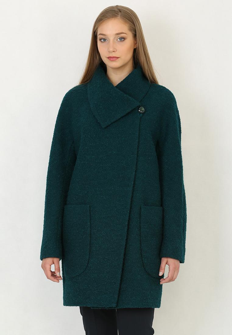 Женские пальто Trifo 7418/1-Изумрудный-46/164