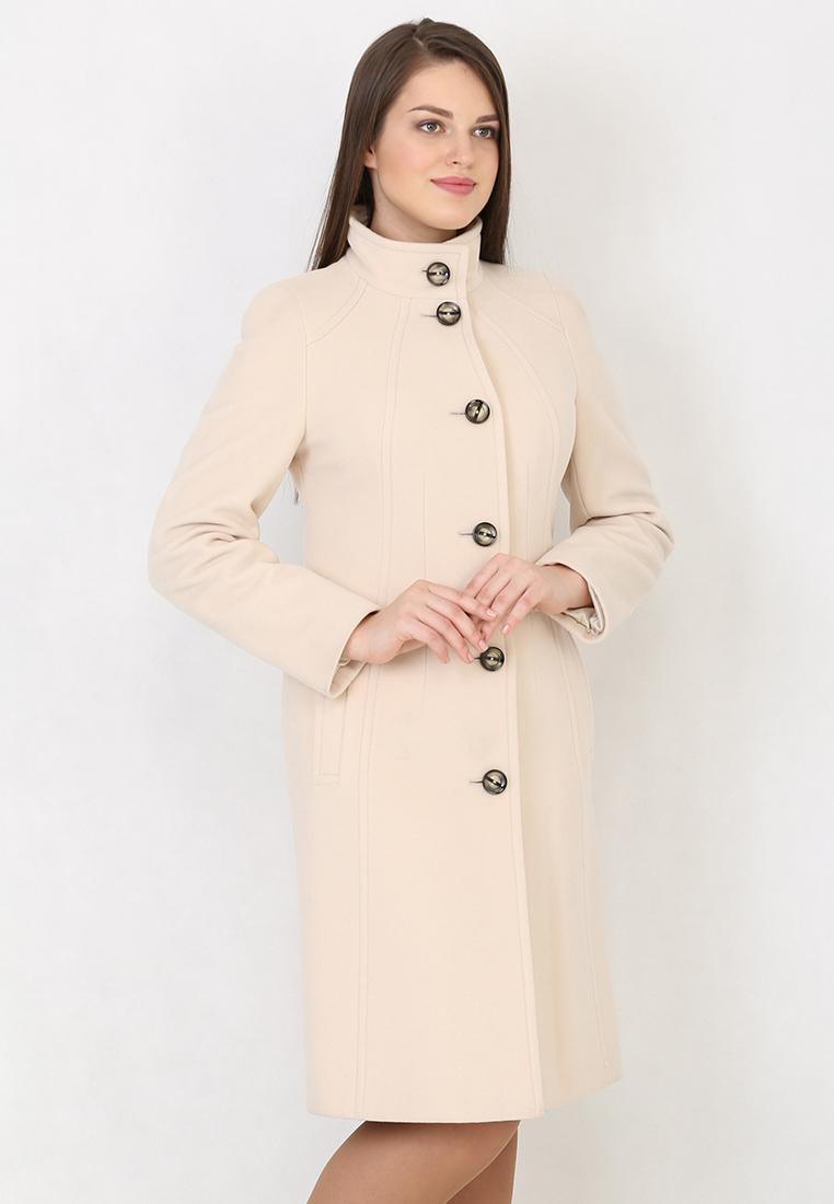 Женские пальто Trifo 7271-Кремовый-46/170