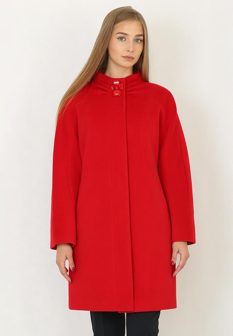 Женские пальто Trifo 7359-Красный-44/164