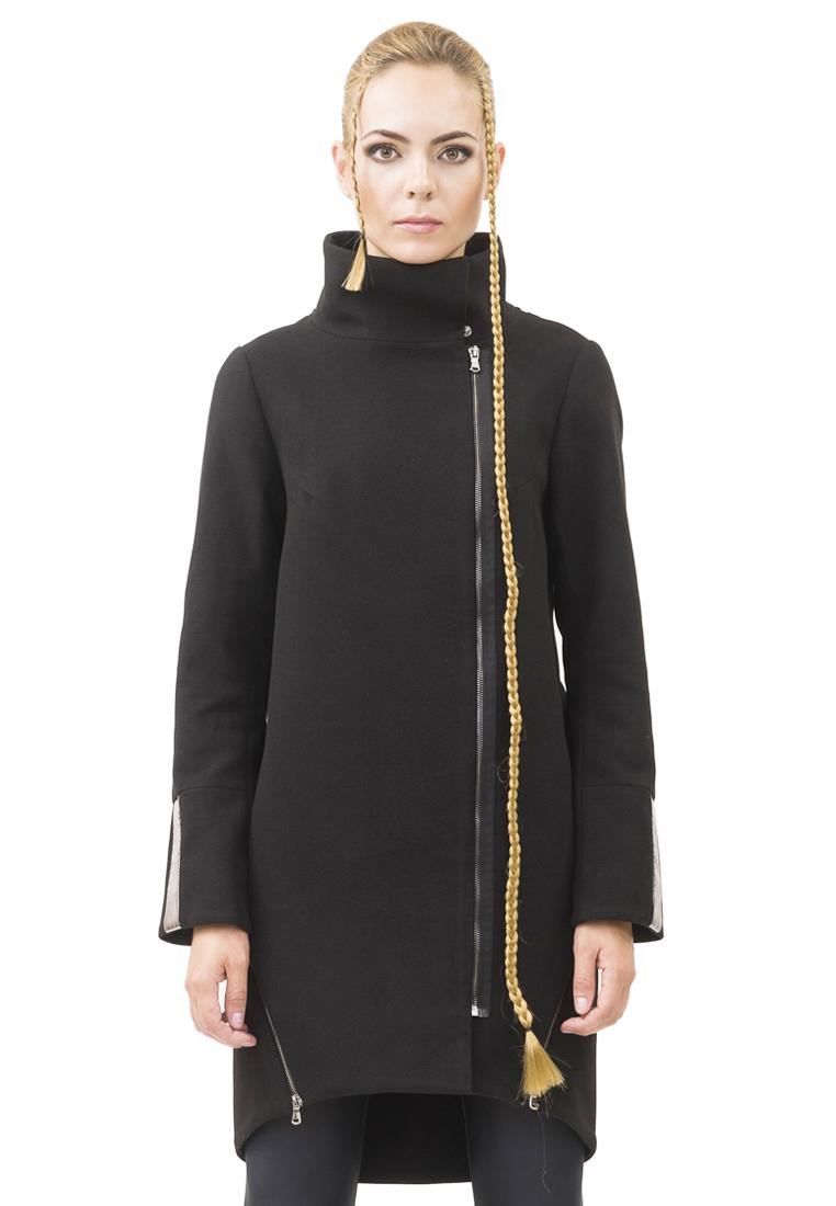 Женские пальто Pavel Yerokin RNV-50-черный/темно-серый-40