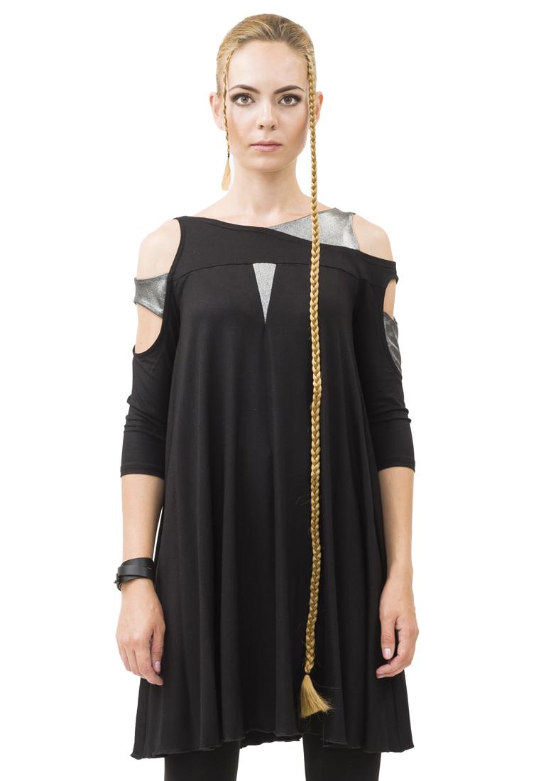 Вязаное платье Pavel Yerokin BSR-35-черный-40