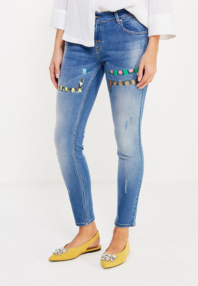 Зауженные джинсы Jeu Poitrine JPSS17-LT16/original36
