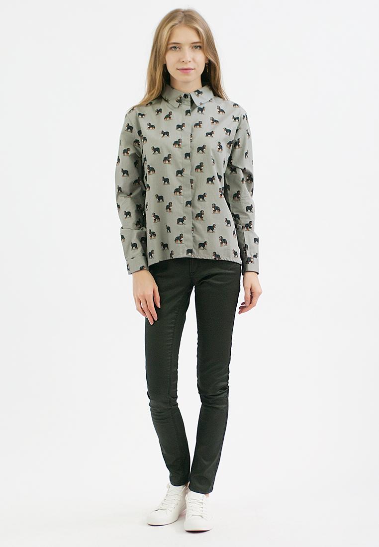 Женские рубашки с длинным рукавом Monoroom KW181-000001-one-size