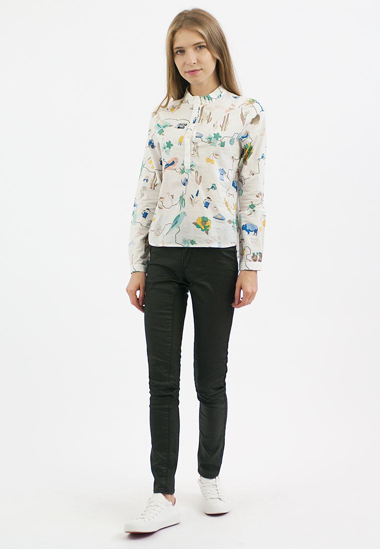 Женские рубашки с длинным рукавом Monoroom KW181-000007-one-size