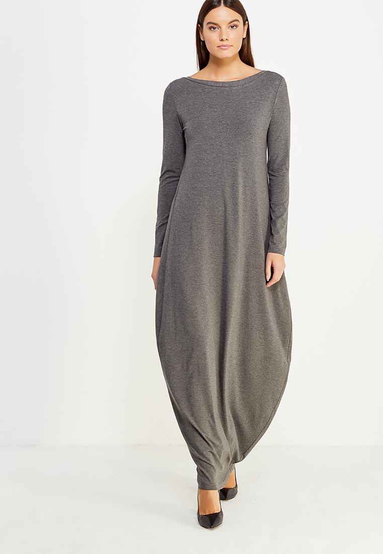 Вязаное платье Luv LUV_FW1701_GREY_S