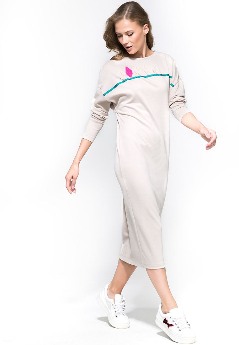 Платье-миди YULIA'SWAY D00161B-44