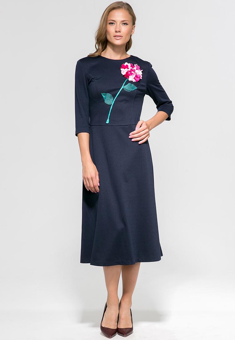 Повседневное платье YULIA'SWAY D00158BLU-44