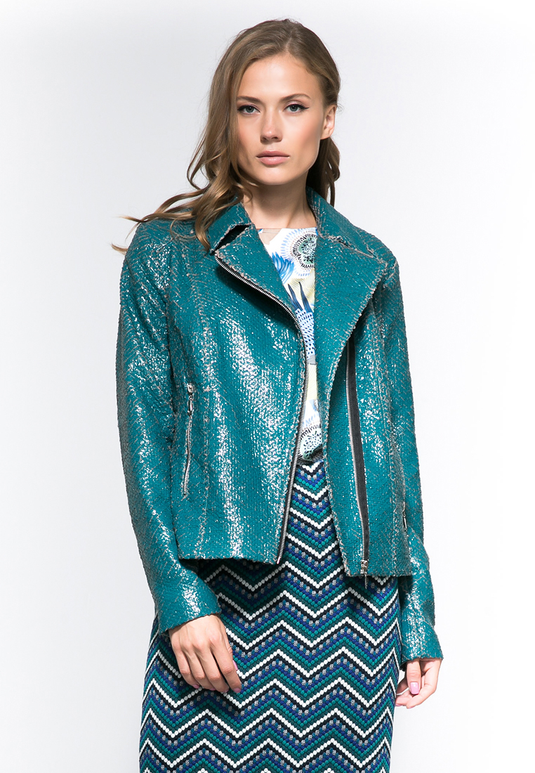 Кожаная куртка YULIA'SWAY D00176-44