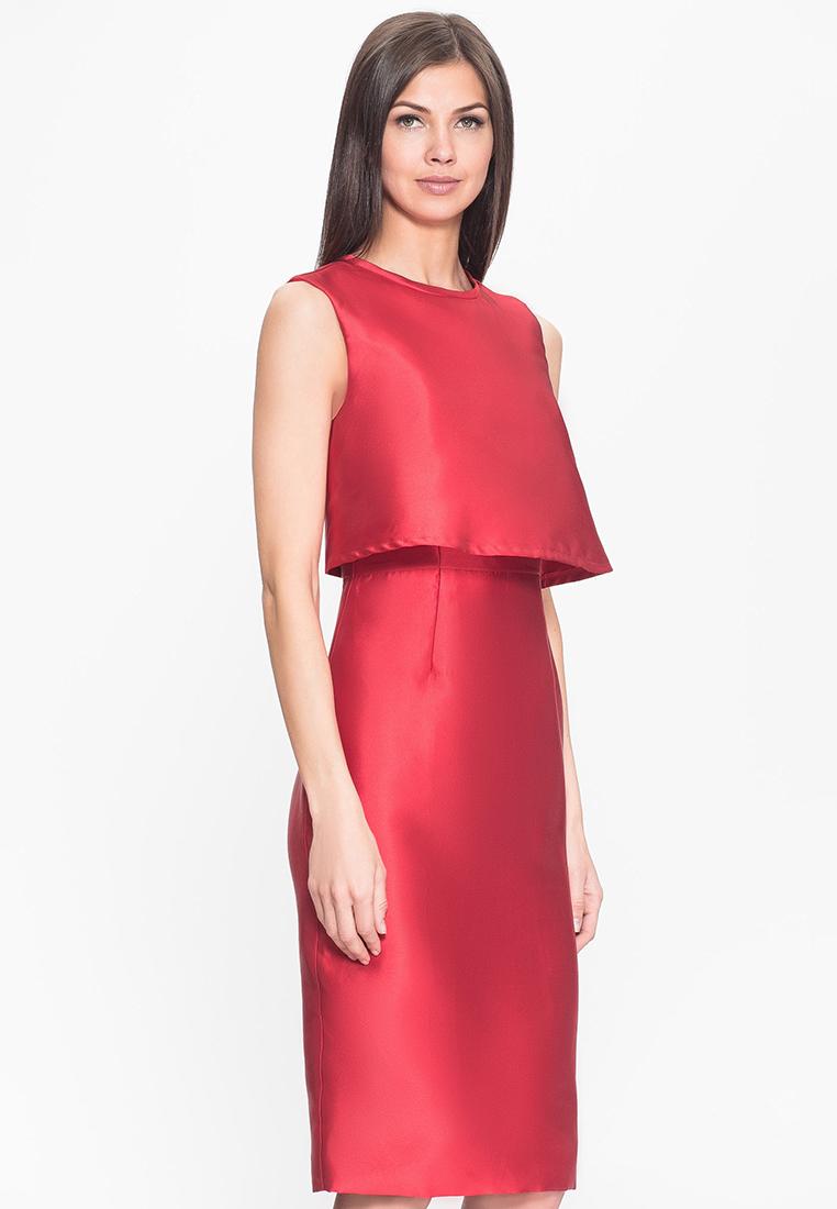 Платье-миди Cavo CVAT002-red-S