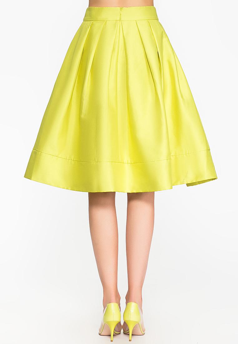 Широкая юбка Cavo CVLP003-yellow-S