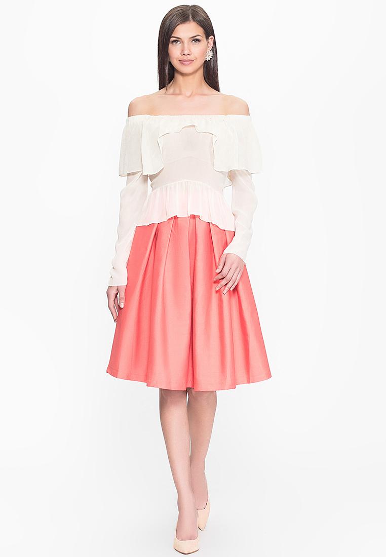 Широкая юбка Cavo CVLP004-coral-S
