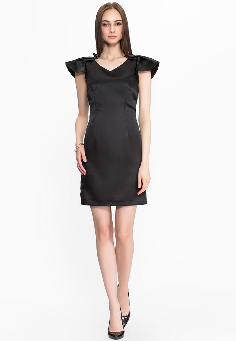 Вечернее / коктейльное платье Cavo FW15CVMC019-black-S