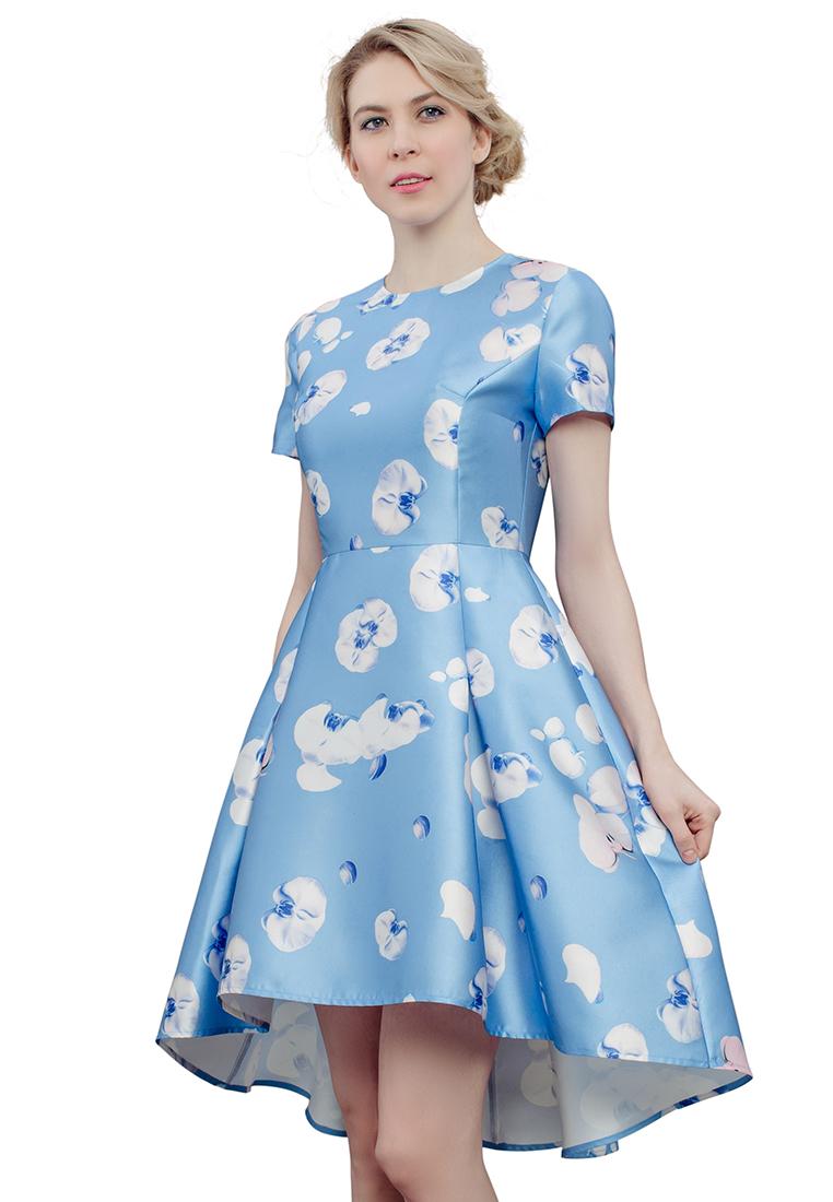 Повседневное платье Cavo CVMC013-ltblue-S