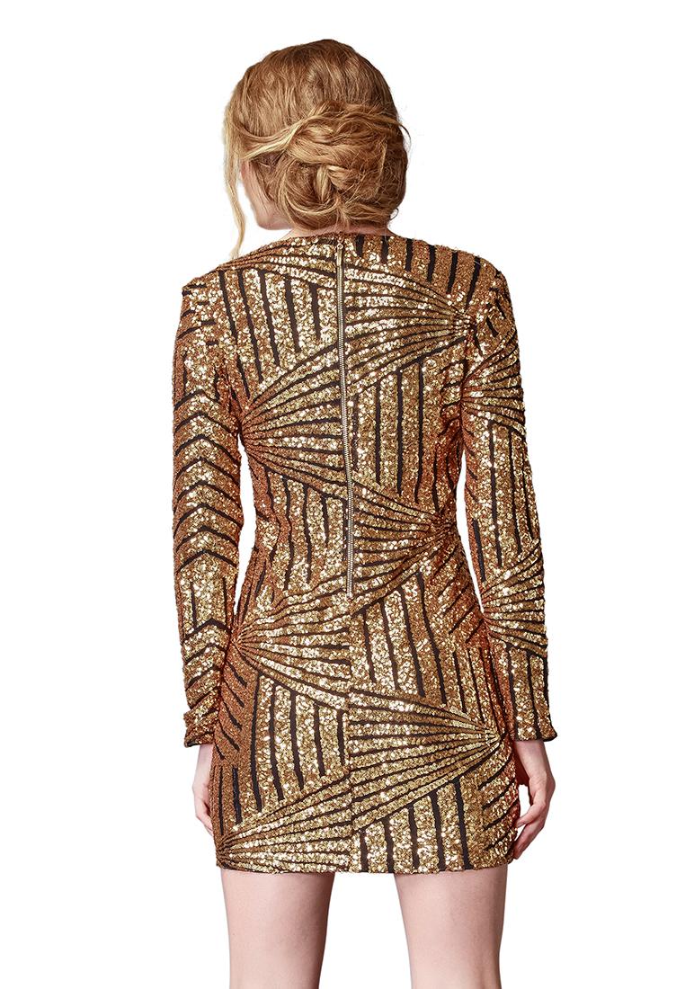 Вечернее / коктейльное платье Cavo СVLP004-1-gold-S_DELETED_2017-09-13_17-50-16