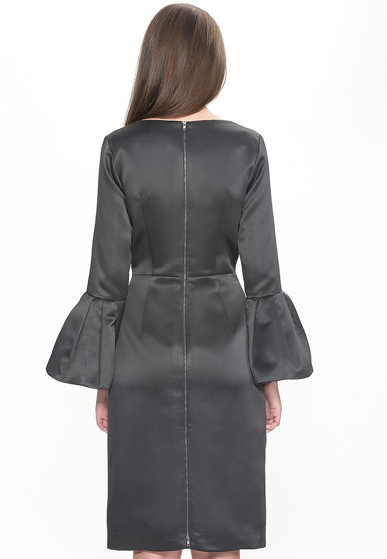 Платье-миди Cavo CVMC8004-drblue-S