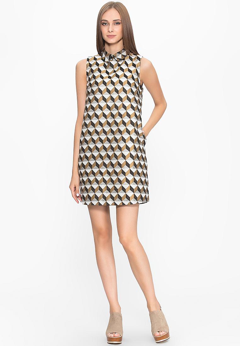 Повседневное платье Cavo CVLPJ3215-gold-S