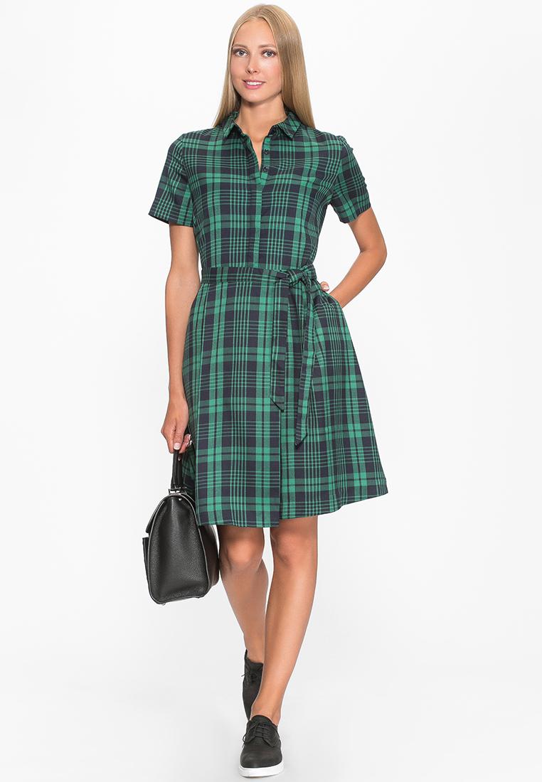 Повседневное платье Cavo CVLPX8073-green-S
