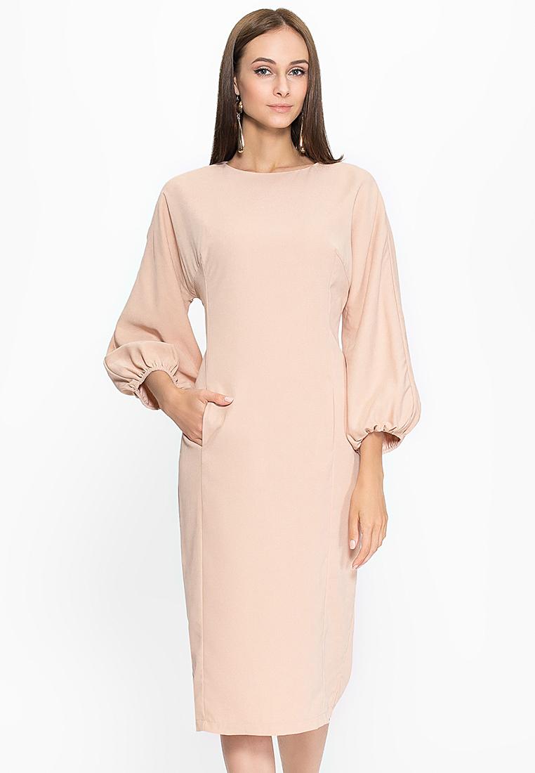 Вечернее / коктейльное платье Cavo CVMC1061-beige-S