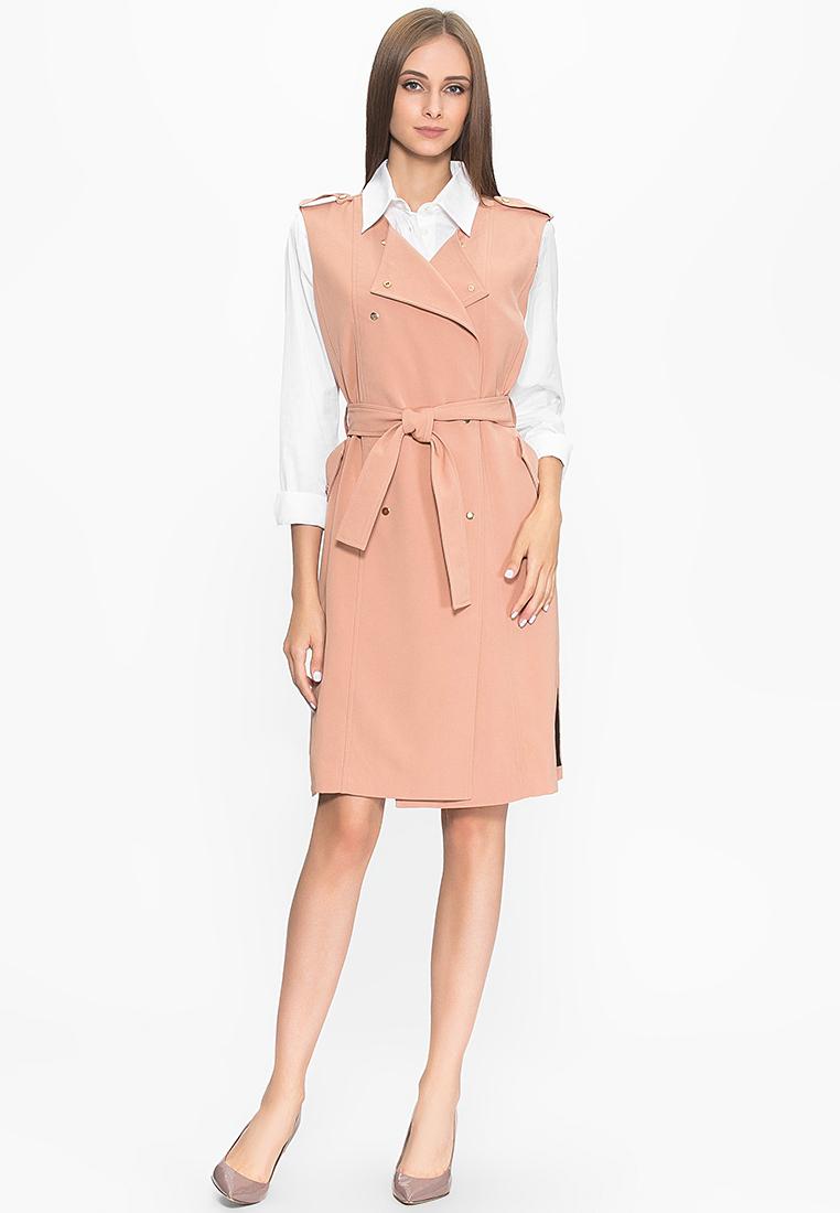 Повседневное платье Cavo CVLPX8005-peach-S