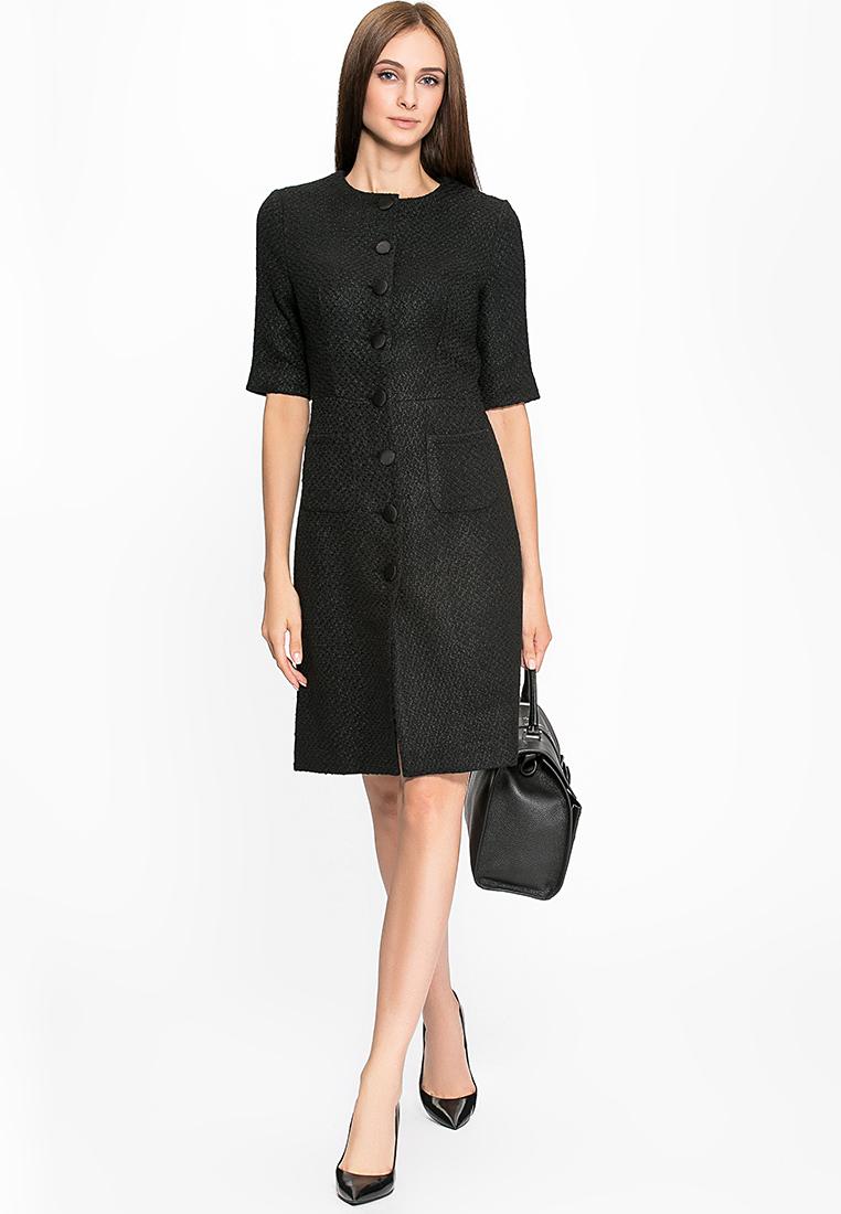 Деловое платье Cavo CVMC1103-black-S