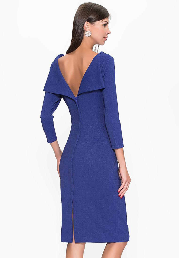 Вечернее / коктейльное платье Cavo CVMC1070-blue-S