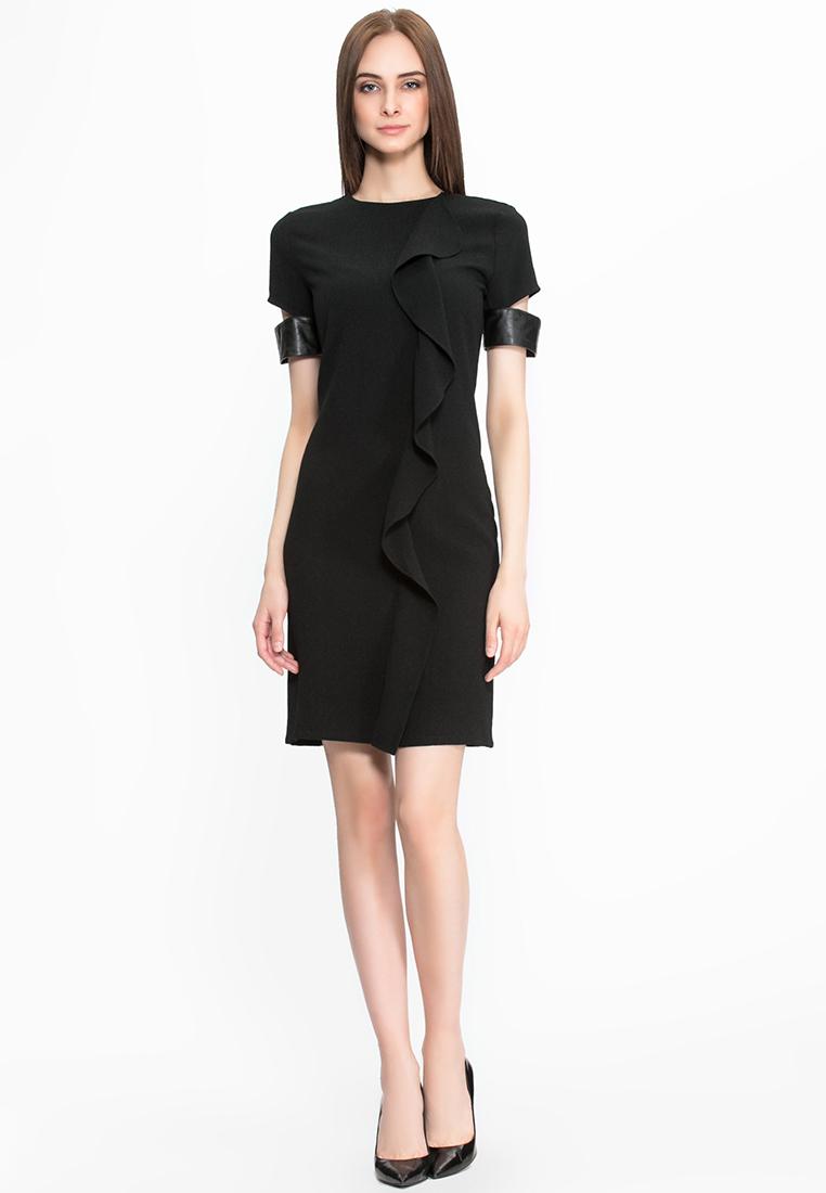 Повседневное платье Cavo FW15CVMC099-black-S