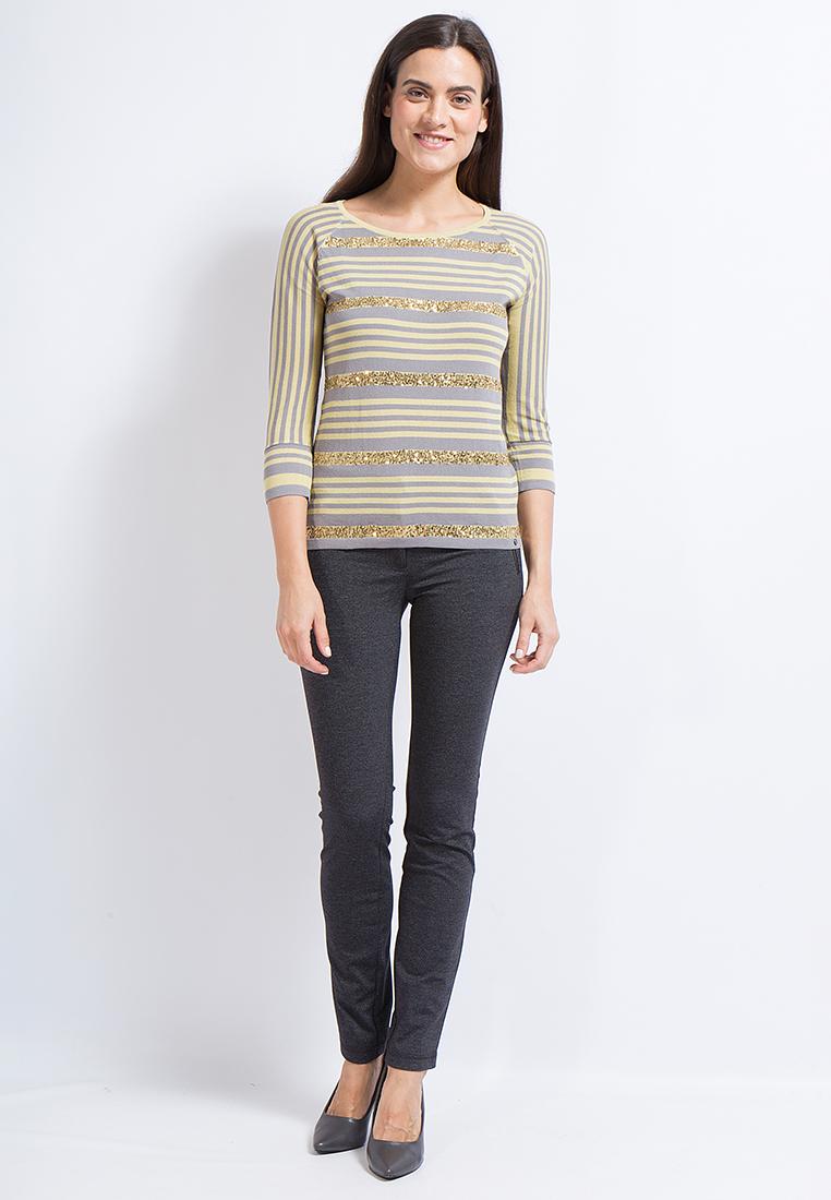 Женские зауженные брюки Finn Flare (Фин Флаер) A17-11017-200-2XL