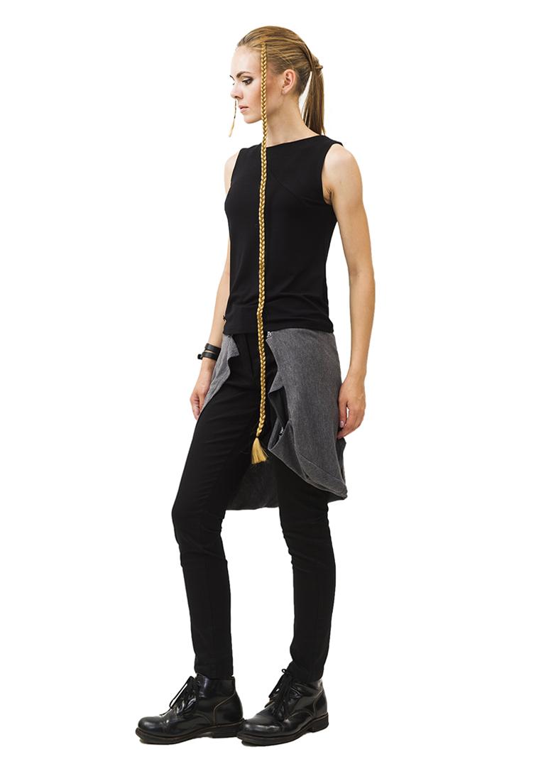 Женские зауженные брюки Pavel Yerokin KKT-1-черный-40