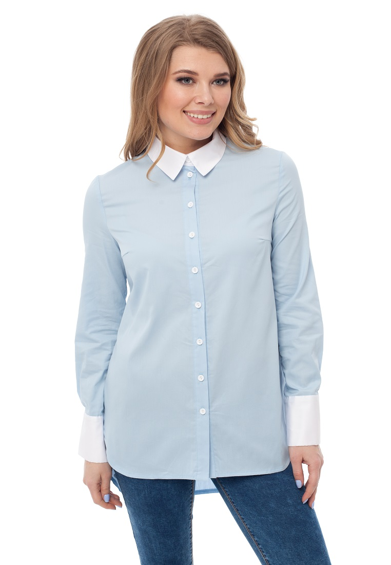 Женские рубашки с длинным рукавом Gloss 19175(10)-36