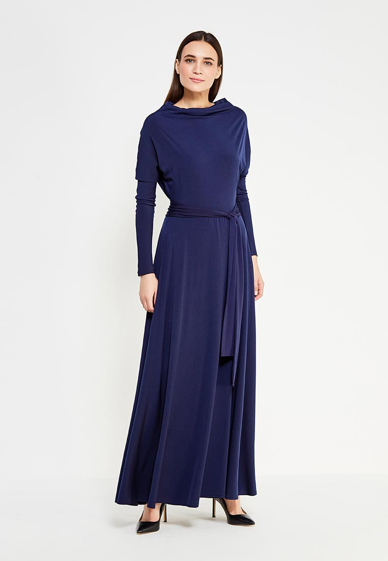 Платье-макси Alina Assi 11-501-104-DarkBlue-L