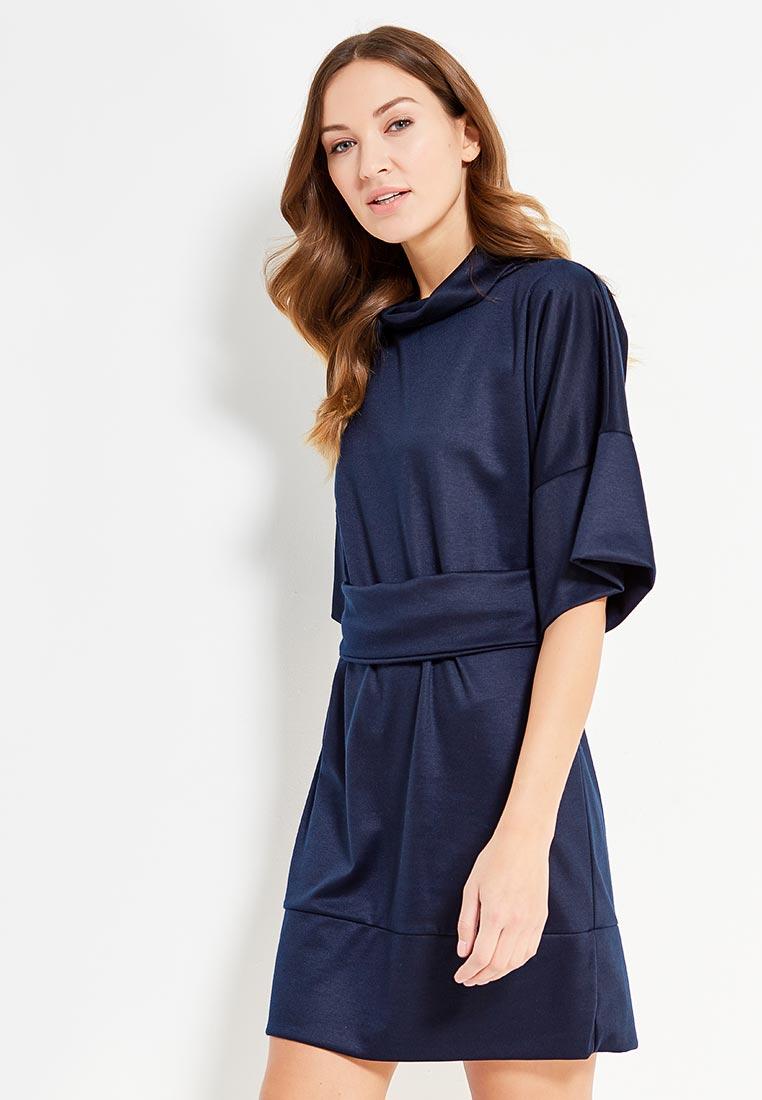 Вязаное платье Alina Assi 11-502-248-DarkBlue-L