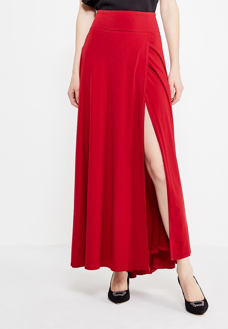 Широкая юбка Alina Assi 19-501-403-Maroon-L