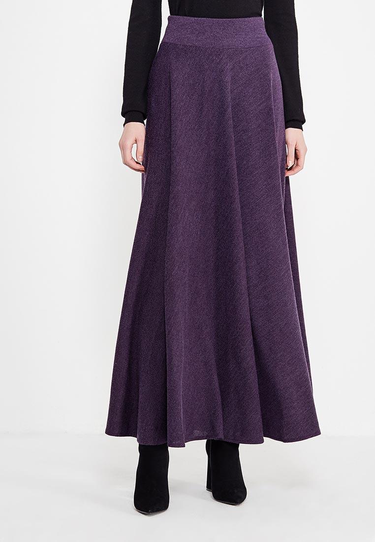 Широкая юбка Alina Assi 19-513-450-Purple-3XL