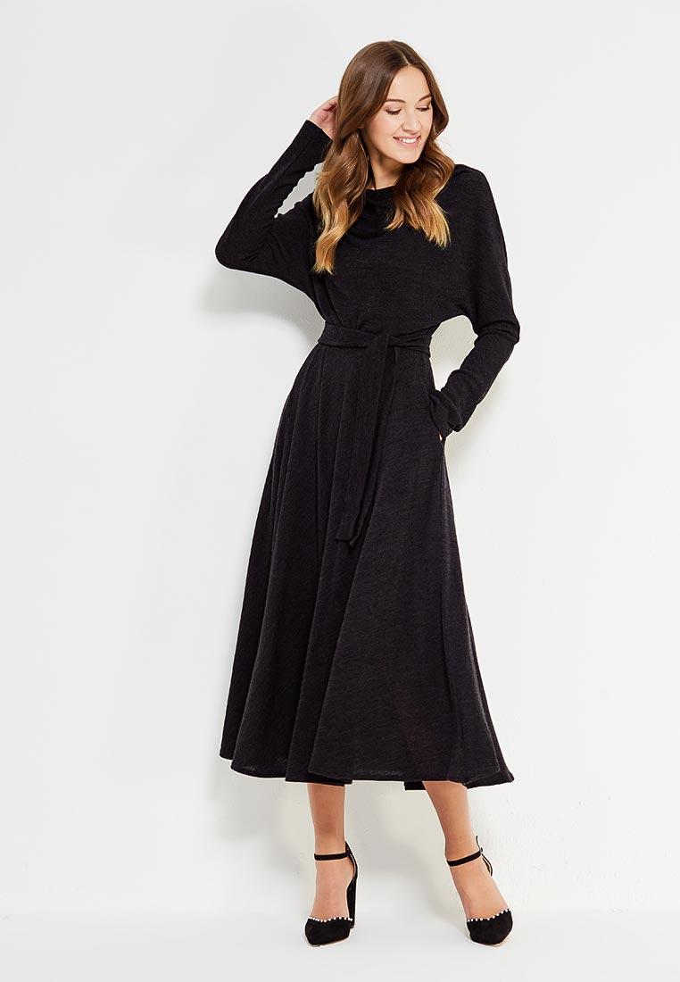 Вязаное платье Alina Assi 11-517-405-Black-L