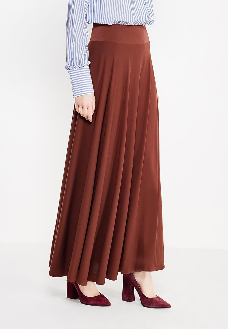 Макси-юбка Alina Assi 19-501-401-Brown-3XL