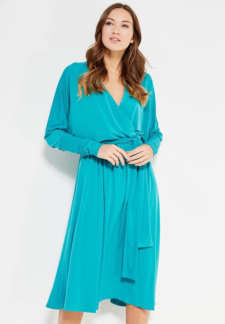 Повседневное платье Alina Assi 11-501-202-Turquoise-L