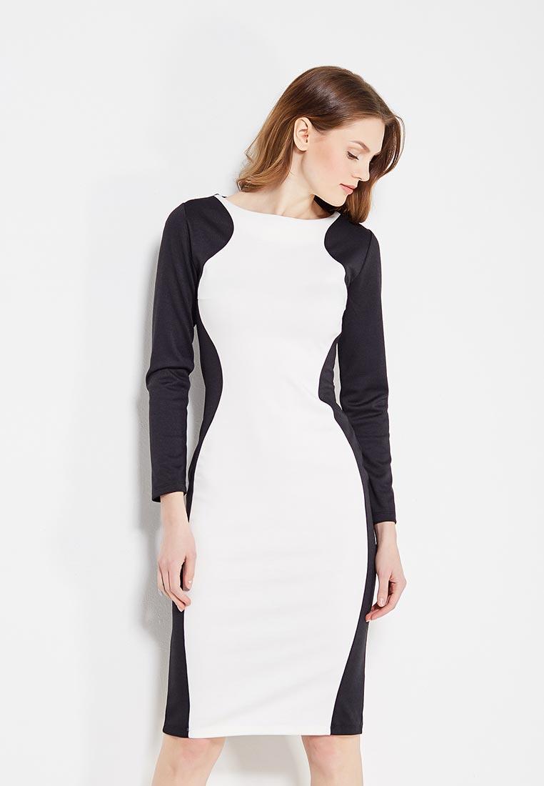 Повседневное платье Alina Assi 11-502-104-Black/White-L