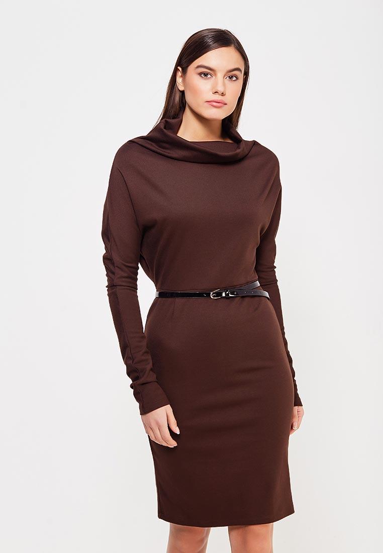 Платье Alina Assi 11-502-228-Brown-L
