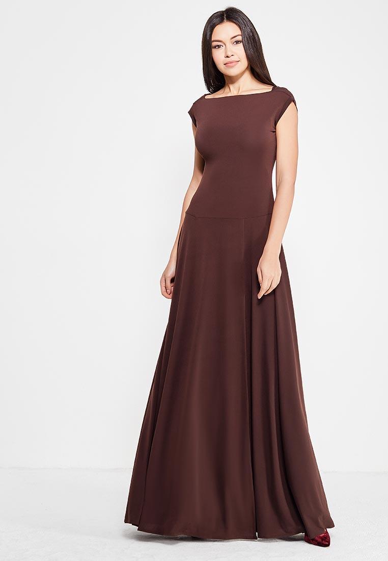 Платье Alina Assi 11-501-721-Brown-S